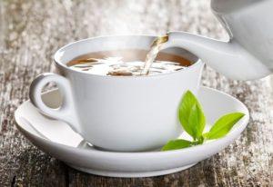 Chaga Tee in der Tasse